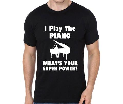 Piano is my Superpower T-shirt for Man, Woman , Kids - AAZRRKEEPVNG