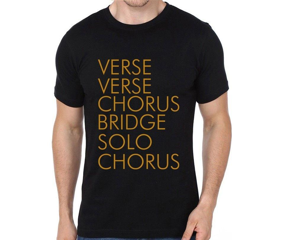 Verse Verse Chorus Bridge Solo Chorus T-shirt for Man, Woman , Kids - LW6DXSB4JXNC
