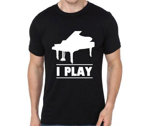 I play Piano T-shirt for Man, Woman , Kids - VLBKBV91K4B1