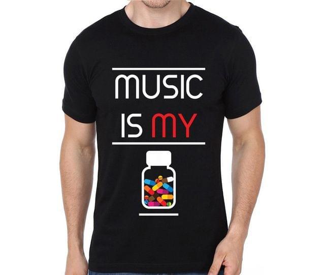Music is my Drug of Choice T-shirt for Man, Woman , Kids - W1W6FZB2UB1E