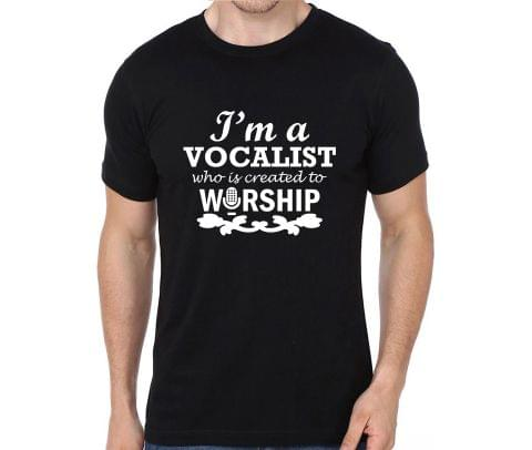 Worship a Vocalist T-shirt for Man, Woman , Kids - XKS268UC1CUJ