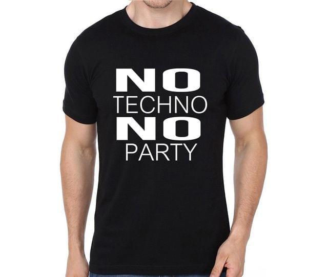 No Techno No Party T-shirt for Man, Woman , Kids - XQB9PNBVCC3U