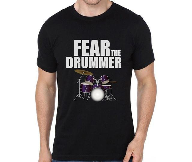 Fear the Drummer T-shirt for Man, Woman , Kids - YCE7HBYG3XPT