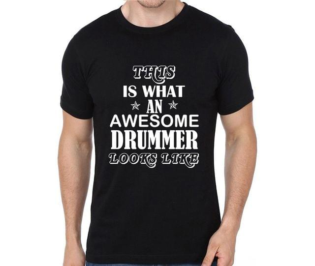 Awesome Drummer T-shirt for Man, Woman , Kids - Q5UE5TL2SL3V