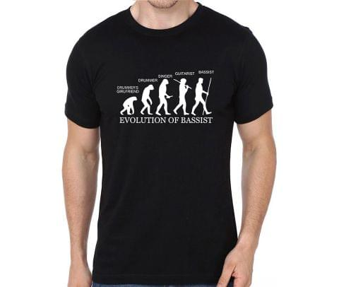 Evolution of Bassist T-shirt for Man, Woman , Kids