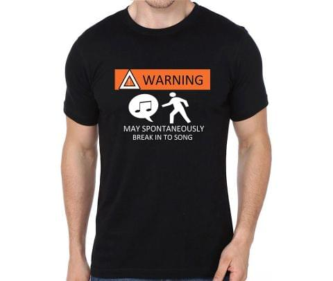 Warning Singer is here T-shirt for Man, Woman , Kids - RATN3PQLEBDL
