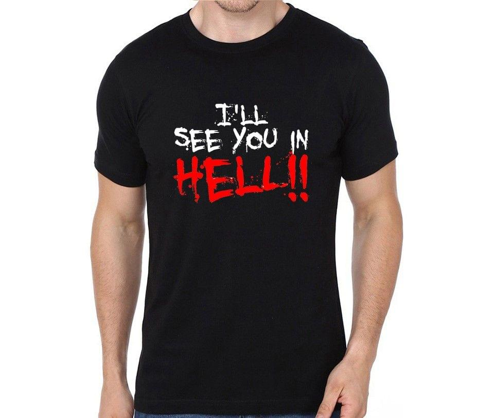 See you in Hell - Rebel T-shirt for Man, Woman , Kids - R2MTBBT8Z5MT