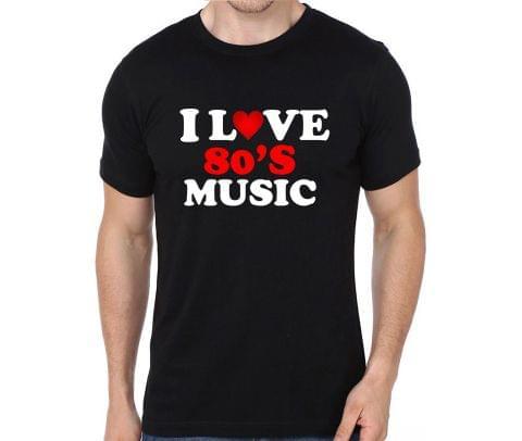 Love 80's Music T-shirt for Man, Woman , Kids - REHPYFKU95KZ