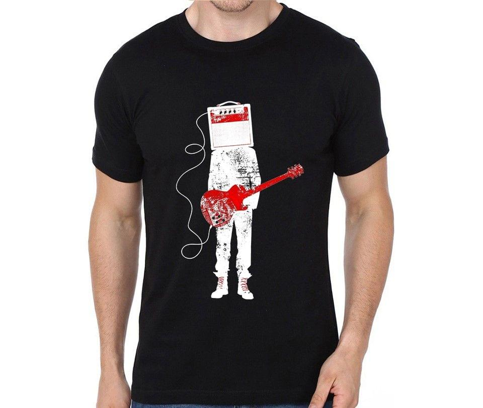 Guitar Amplifier Music Rocker Hard Rock Heavy Metal Cool Musician  T-shirt for Man, Woman , Kids - D9MR5SLR6ZMM5BS
