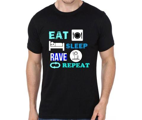 Eat Sleep Rave Repeat T-shirt for Man, Woman , Kids - GBFTSMTJJ32R