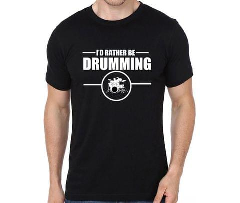 Rather be Drumming T-shirt for Man, Woman , Kids - HNCWENRV3KYP
