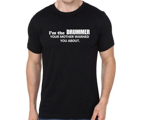 Warning Drummer T-shirt for Man, Woman , Kids - HPHUSUQ5JH3W