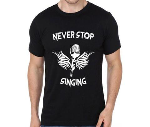 Never Stop Singing  T-shirt for Man, Woman , Kids - JA98EVF7YWRDKEL