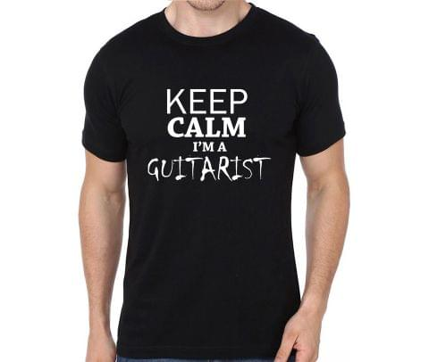 Keep calm I am Guitarist  T-shirt for Man, Woman , Kids - 7BQRU543FH43