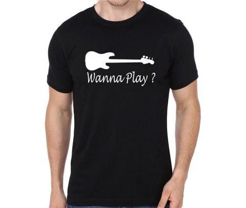 Bassist - Wanna play  T-shirt for Man, Woman , Kids - 2C66XK1292W8