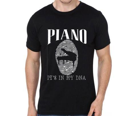 Piano its in my DNA rock metal band music tshirts for Men Women Kids - 6YNKZP9U3RFJU5US