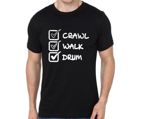 Crawl Walk Drum rock metal band music tshirts for Men Women Kids - 9VTZLQS8L5YSPX3R