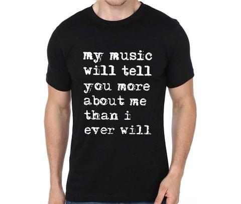 My music knows me rock metal band music tshirts for Men Women Kids - ATENNR5GT6X76R9K