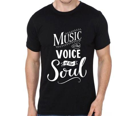 Music is the voice of the Souls rock metal band music tshirts for Men Women Kids