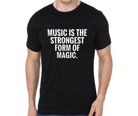 Strongest form of Magic : Music rock metal band music tshirts for Men Women Kids