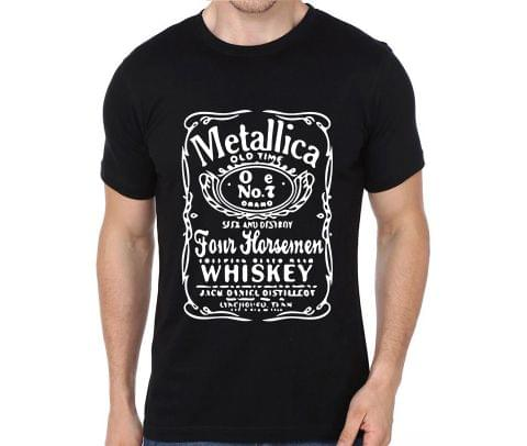 Metallica Jack Daniels rock metal band music tshirts for Men Women Kids - PJ9ZMS9SXWN6RL4N