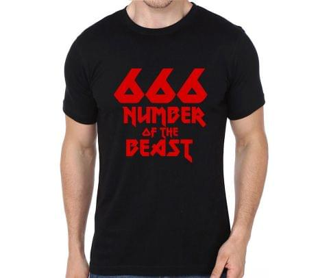 666 Number of the Beast Iron Maiden rock metal band music tshirts for Men Women Kids - YHZBAYQA7CX7KUK4