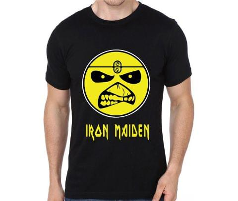 Iron Maiden Smiley rock metal band music tshirts for Men Women Kids - YUZH655ENPV9LTVM