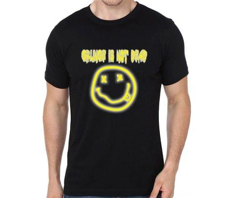 Grunge not Dead Nirvana Smiley Kurt Cobain rock metal band music tshirts for Men Women Kids - DA2JRP9M6MLQDFFN
