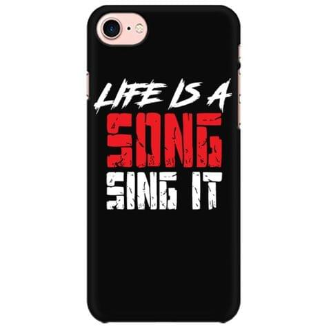 Life is a song Sing it Mobile back hard case cover - 3THDPJCJS8W6