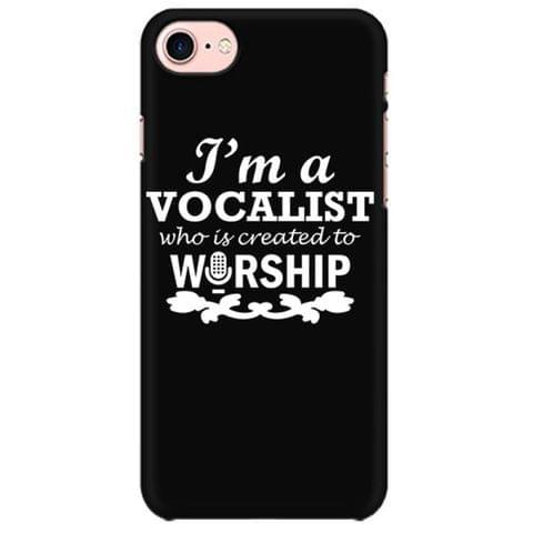Worship a Vocalist Mobile back hard case cover - XKS268UC1CUJ
