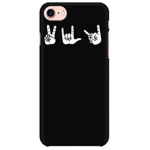 Peace Love Death Metal rock metal band music mobile case for all mobiles