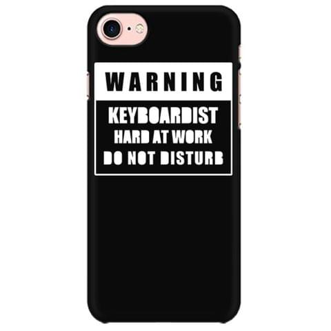 Warning : Keyboardist Mobile back hard case cover - YXB6M9A867CC
