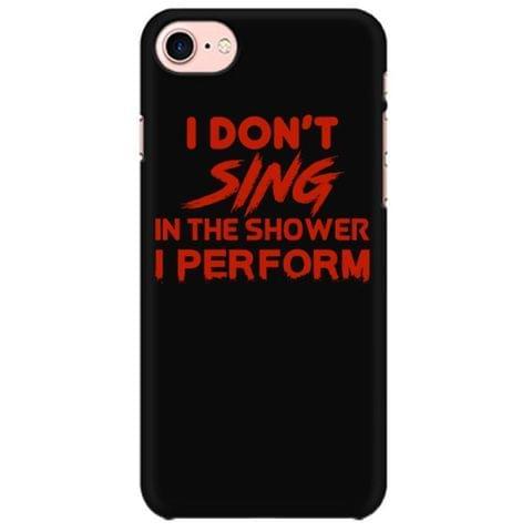 Perform in Shower - Singer, Vocalist Mobile back hard case cover - ZZMK9DDNNDNJ
