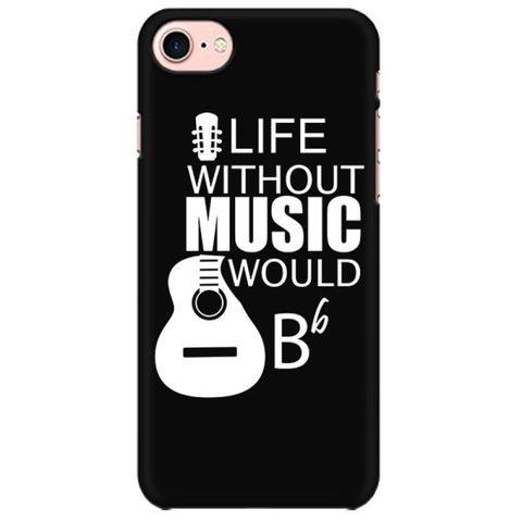 Life without Music would B flat Mobile back hard case cover - ZZW2A9E1JDBW