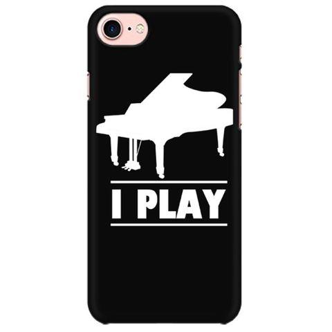 I play Piano Mobile back hard case cover - VLBKBV91K4B1