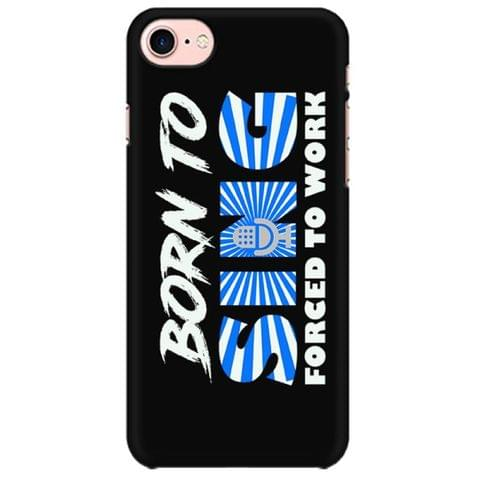Born to Sing Mobile back hard case cover - T8WPJRVG4KE9