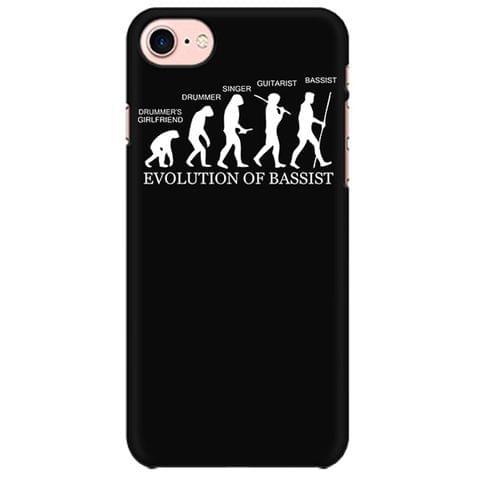 Evolution of Bassist Mobile back hard case cover - R3R4RUPEDKS6