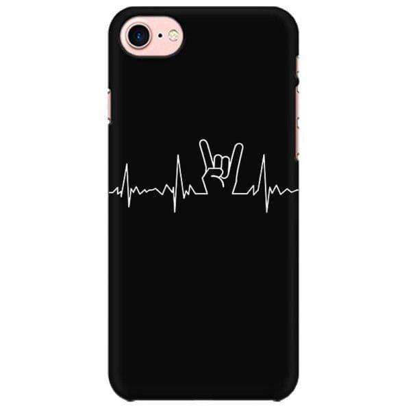 Metal Heartbeat   Mobile back hard case cover - QJ74DSWZU6JQPD2