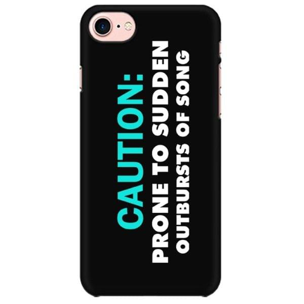 Singer - Vocalist : Prone to sudden outburst of Song Mobile back hard case cover - QLVKMCN3GWAU