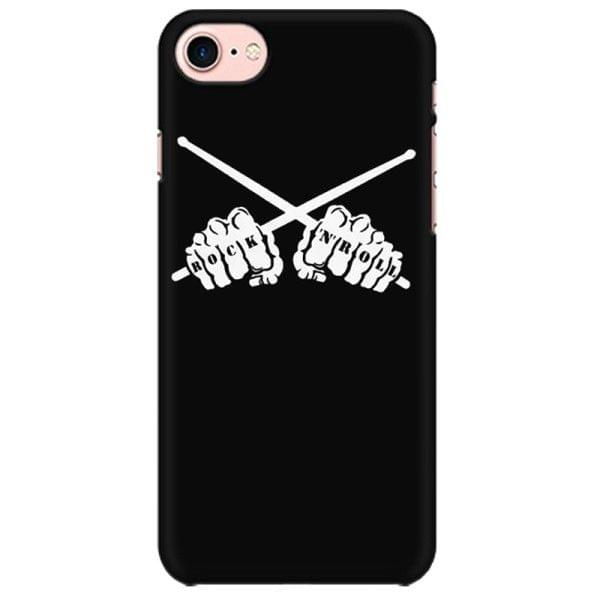 Rock n Roll Drummer  Mobile back hard case cover - MCUSEHPUX5XNFLM