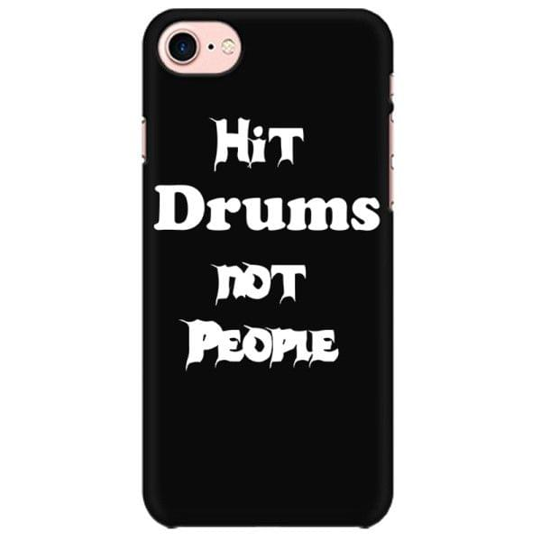 Hit Drums not People Mobile back hard case cover - MEJX82TEURYW