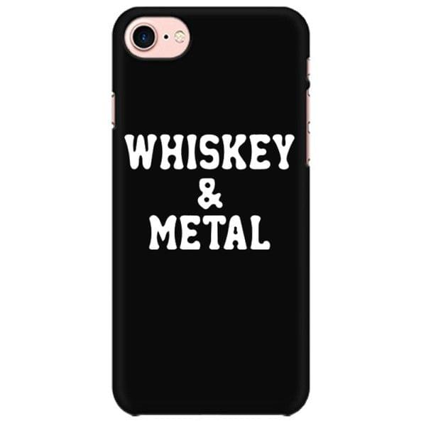 Whiskey and Metal rock metal band music mobile case for all mobiles - NFKNMZSKMXPZ6QBA