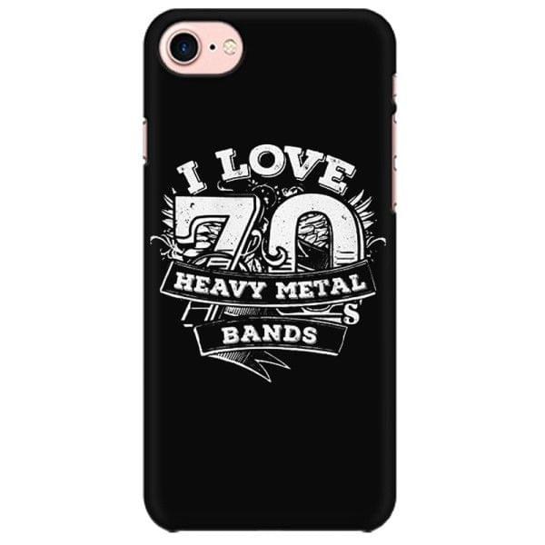 Love 70 Heavy Metal Bands  Mobile back hard case cover - NJ9WN7KKA99TSQE