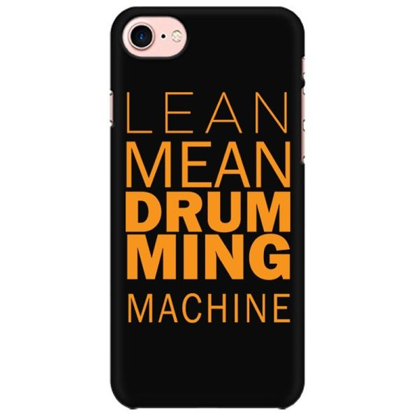 Lean Mean Drumming Machine Mobile back hard case cover - HHQV9CCZJ1KZ