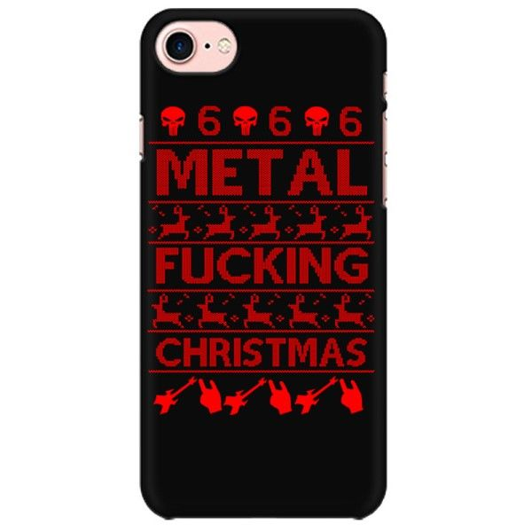 METAL FUCKING CHRISTMAS  Mobile back hard case cover - HMTT8DLURV754S5