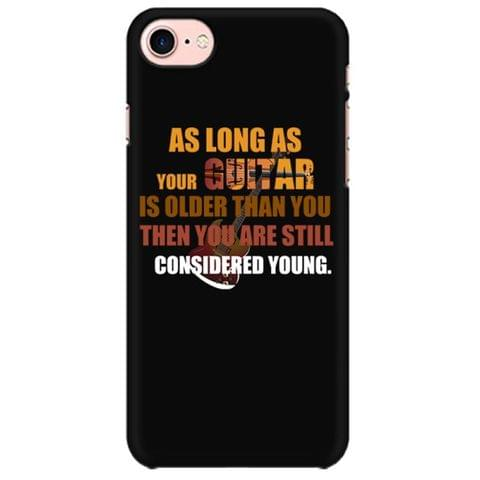 Young Guitarist Rules Mobile back hard case cover - J7PCMMJSPHT4