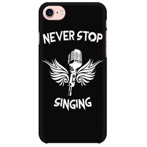 Never Stop Singing  Mobile back hard case cover - JA98EVF7YWRDKEL