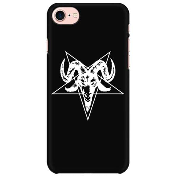 Satanic Goat Head with Cross. Satan  Mobile back hard case cover - JK4WQZHH4XULEZ5