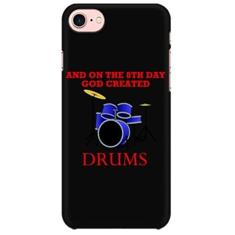 God Created Drums Mobile back hard case cover - JMJV8YCZ1SG8