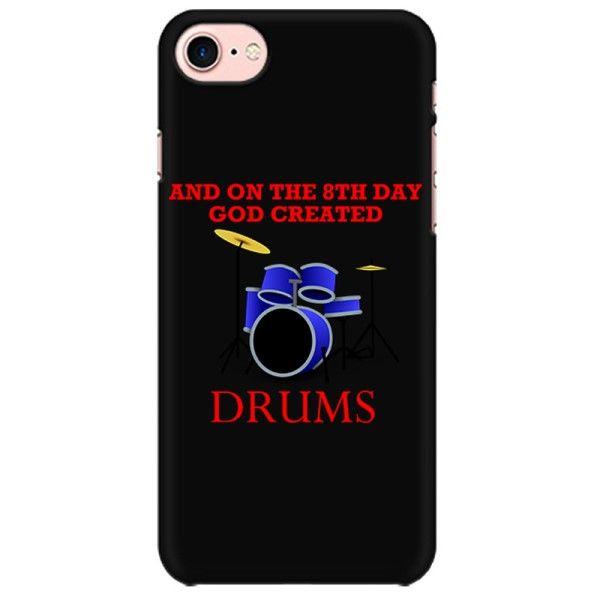 God Created Drums Mobile back hard case cover - JMJV8YCZ1SG8
